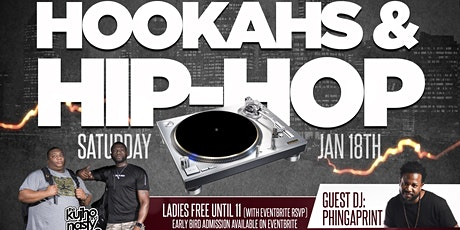 Hookahs & HipHop presented by KaNS tickets