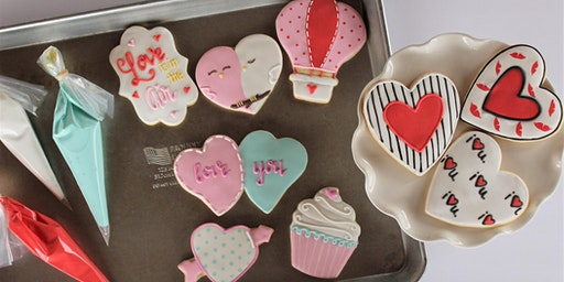 Valentine's Day Sugar Cookie Decorating Class