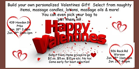 Build your own Valentine Gift tickets