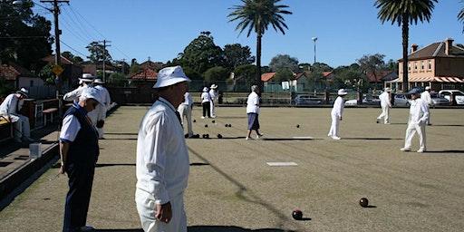 Meet & Play Seniors Festival -  Lawn Bowls at Pratten Park Bowling Club