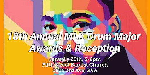 18th Annual MLK Drum Major Awards & Reception