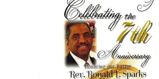 Pastoral Anniversary Celebration for Rev Ronald Sparks