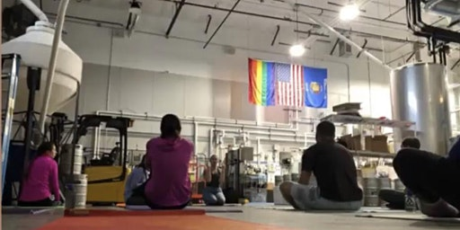 Yoga and Beer at Delta Beer Lab