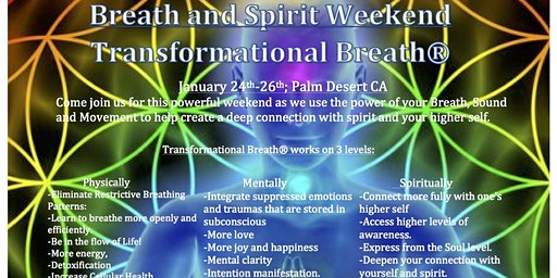 Breath and Spirit Weekend: Transformational Breath®