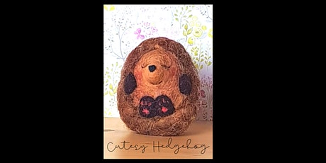 Needle Felting Workshop with Little Felted Dreams, Cutesy Hedgehog tickets