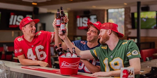 SUPER BOWL at FORESTERS BAR