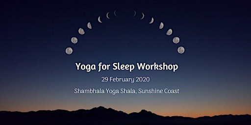 Yoga for Sleep Workshop