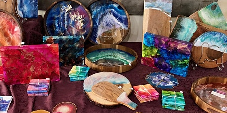 The Art of Abstract: Showcasing Resin, Alcohol Ink and Acrylic Paint tickets