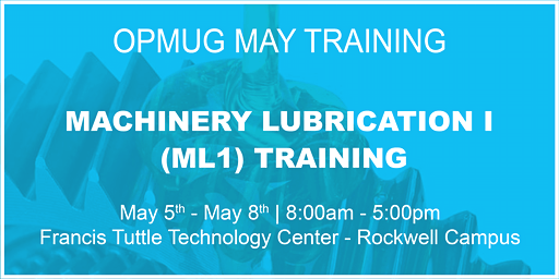 Machinery Lubrication I Training with ICML Certification Testing