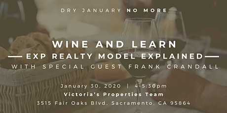 Wine & Learn | eXp Realty model explained tickets