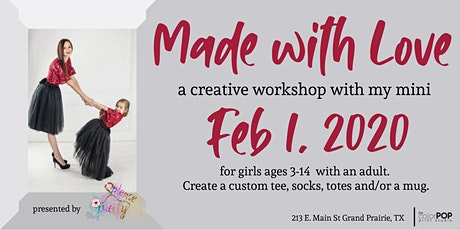 Made with Love -a creative workshop with my mini tickets