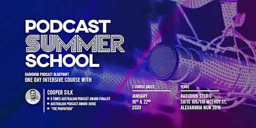RadioHub Podcast Summer School