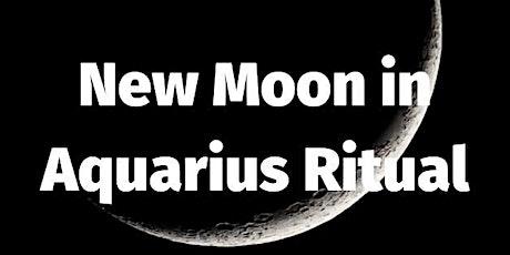 New Moon in Aquarius Ritual tickets