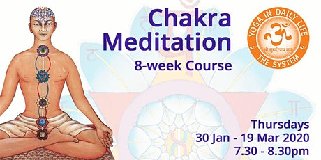 Chakra Meditation 8-week Course tickets