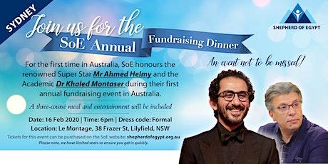 Shepherd of Egypt Annual Fundraising Dinner-Sydney tickets