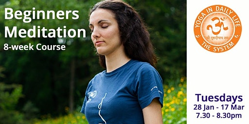 Beginners Meditation 8-week Course