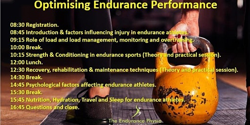 Optimising Endurance Performance Course