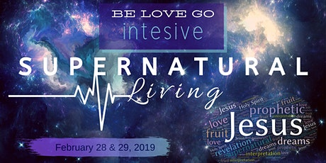 Supernatural Living Intensive tickets