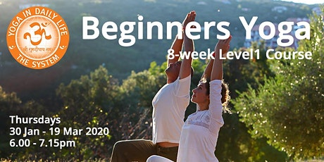 BEGINNERS Level 1 Yoga Course tickets