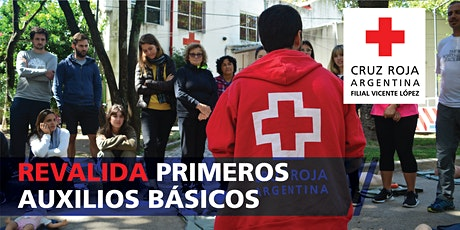 Reválidad Curso de Primeros Auxilios Básicos 7/03/2020 (9 a 18hs) entradas