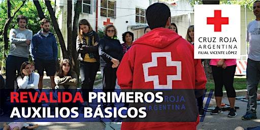 Reválidad Curso de Primeros Auxilios Básicos 7/03/2020 (9 a 18hs)
