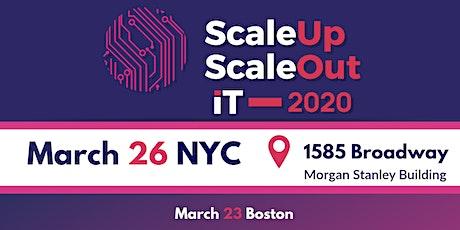 IT ScaleUp ScaleOut New York 2020 tickets