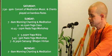 Chanting Weekend of mantras/kirtans/bhajans tickets
