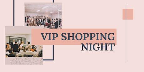 February VIP Shopping Night tickets