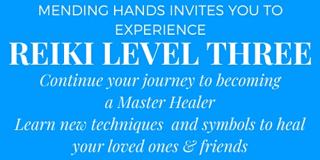 Usui Shiki Ryoho Reiki Master Level Three tickets