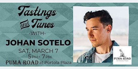 Live Music - Tastings & Tunes w/ Johan Sotelo tickets