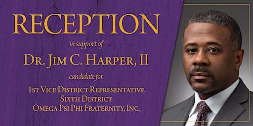 Reception in Support of Dr. Jim C. Harper, II