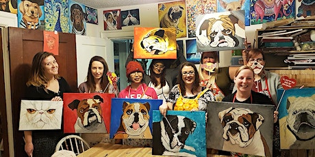Paint Your Pet & Paint Your Pet in Colour, JANUARY! tickets