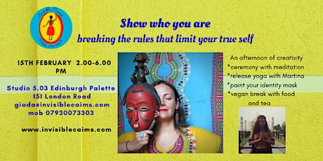 Show who you are, breaking the rules that limit your true self tickets