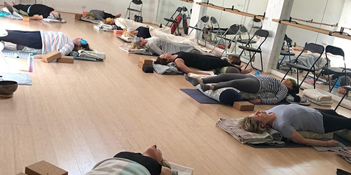 Restorative Yoga workshop - Rest - Restore - Reiki