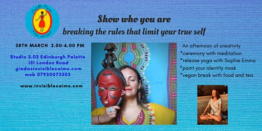 Show who you are, breaking the rules that limit your true self