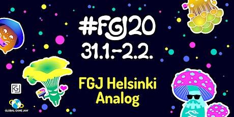 FGJ Helsinki Analog tickets