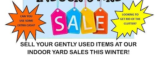 Indoor Yard Sale - February 8