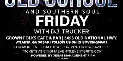 DJ Trucker at Grown Folk in College Park, GA