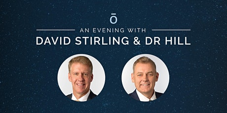 An evening with David Stirling & Dr Hill MELBOURNE tickets