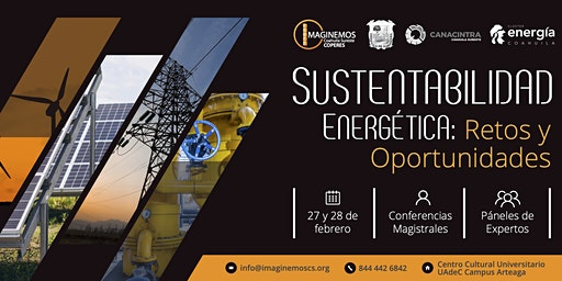 """Congreso """"Sustentabilidad Energética: Retos y Opor"""