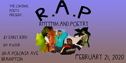 The Liminal Poets Present: R.A.P. - Rhythm and Poetry