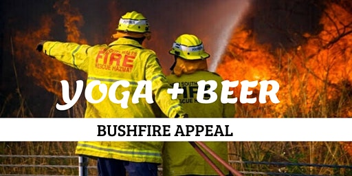 Yoga + Beer for the Bushfire Appeal