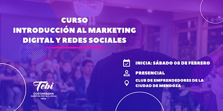 Curso Introducción al Marketing Digital y Redes Sociales | 3ra. Edición entradas