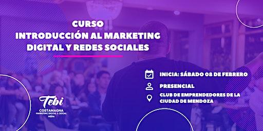 Curso Introducción al Marketing Digital y Redes Sociales | 3ra. Edición
