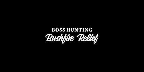 Boss Hunting Bushfire Relief Raffle & BBQ tickets