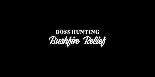 Boss Hunting Bushfire Relief Raffle & BBQ