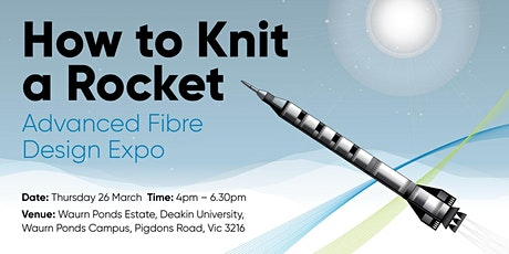 How to knit a rocket: Exploring the future of Carbon Fibre design tickets