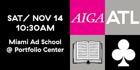 AIGA ATL Book Club -  NOV 2020 tickets