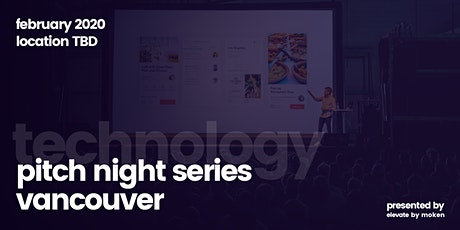 Technology Pitch Night tickets
