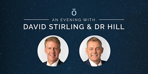 An evening with David Stirling & Dr Hill BRISBANE